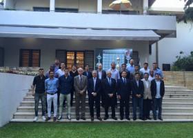 CNAJ invitado al agasajo que el Embajador Dn Noriteru Fukushima ofreció a River Plate y dirigentes antes de la partida a Japón