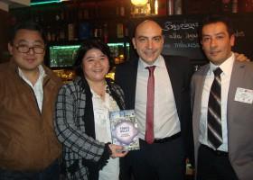 CNAJ en la Presentación del libro del Economista Tomás Bulat