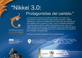 Convención Panamericana Nikkei (COPANI) 2013, 12 al 14 de Septiembre.