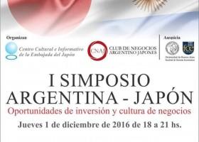 I SIMPOSIO ARGENTINA – JAPON