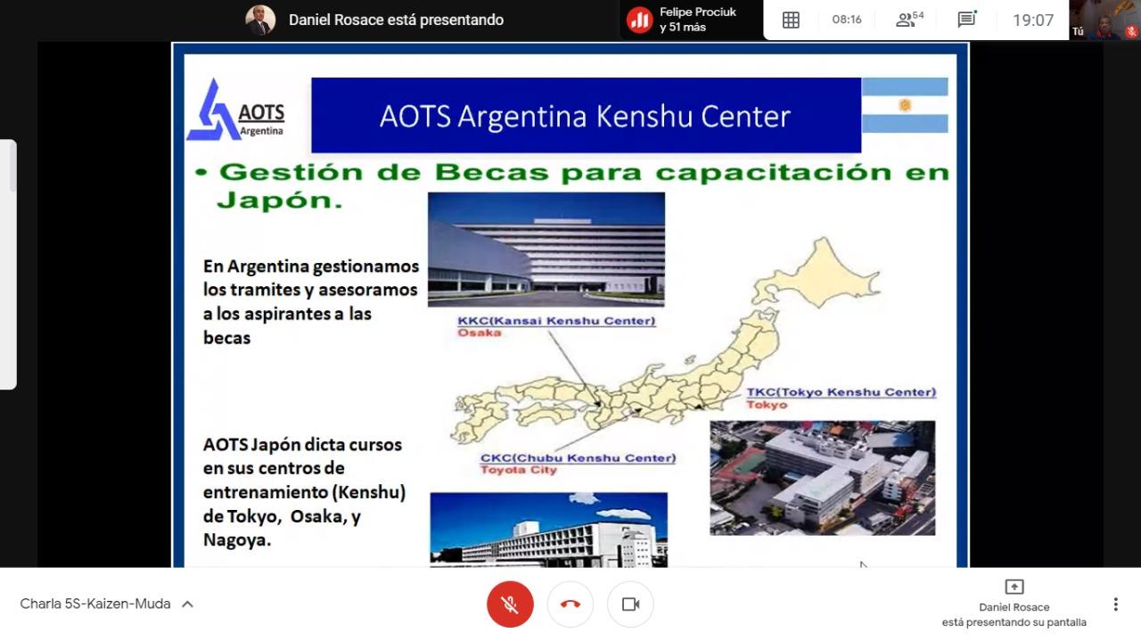 AOTS en Japón